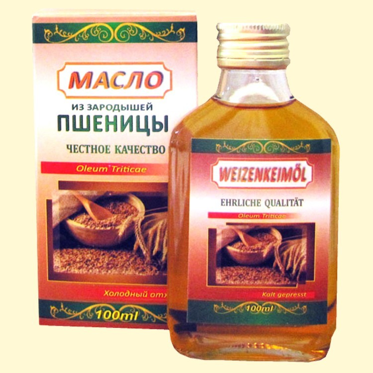 Масло из зародышей пшеницы своими руками