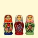 "Матрёшка ""Россияночка"" (M4) 9 см,"