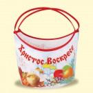 Матерчатая пасхальная корзиночка корзина, В - 35 см