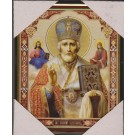 Icon of St. Nicholas 20х25 plastic - Икона Святой Николай Чудотворец 20х25 пластик