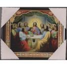 Icon of The Last Supper 20х25 plastic - Икона Тайная Вечеря 20х25 пластик