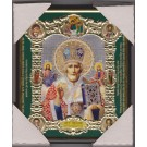 Icon of St. Nicholas 15х18 plastic - Икона Святой Николай Чудотворец 15х18 пластик