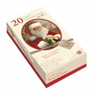 Box of 20 Slim Christmas Cards with Foil - 2 Designs per pack - Santa Claus - £4.99