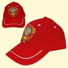 "Cap ""USSR"" red - Кепка ""СССР"" красная"