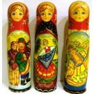 Матрешка-футляр для Бутылки