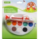 Набор для росписи пасхальных яиц: станочек + краски