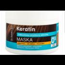 Dr.Sante Keratin Маска для тусклых и ломких волос, 300 мл/ Dr. Sante Keratin+Arginine+Collagen Mask 300 ML