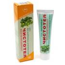 ЧИСТОТЕЛ гель для проблемных участков кожи восстанавливающий 50 мл! Celandine gel for problem skin rejuvenating 50 ml!