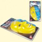 """Фанатская маска """"Украина"""", сине-жёлтая, 23 см в длину, из пластика, с резиночкой"""
