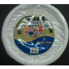 Plastic Plate 8pcs 26x20.5x2cm - Пластмассовые одноразовые тарелки 8шт. 26x20.5x2cm