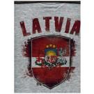 """Футболка """"Латвия"""" 100% cotton"""