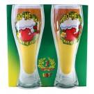 """Mugs for beer - Кружки для пива """"Пиво с утра не только вредно но и полезно"""" 450 мл."""