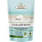 "Соль  для ванн ""МОРСКАЯ натуральная с солью Мертвого моря"",500 g Bath Salt ""Sea natural"", 500 g/""ZA"" Sol' dlya vann ""Morskaya natural'naya"", 500 g"